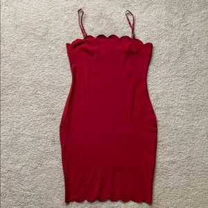 Fitted minidress